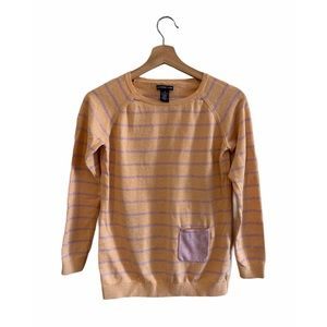 Oxford Gold Stripped Sweater